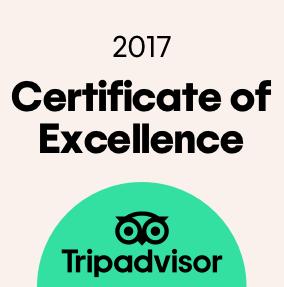 트립어드바이저 우수 인증 (Certificate of Excellence)